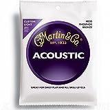 Martin 92/8chitarra acustica–bronzo fosforoso ferita (Custom/light, .011–.052)