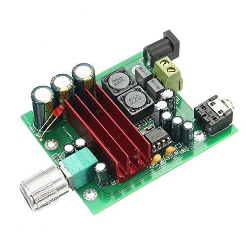 ILS - TPA3116 D2 8-25VDC 100W Mono Subwoofer Digital-Verstärker-Brett NE5532 OPAM 1 Mono-subwoofer-verstärker