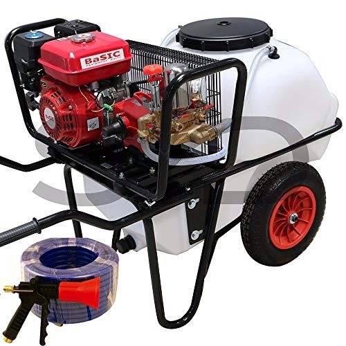 Carretilla sulfatadora 100L. Motor 4T 40bar 22L Alta presión