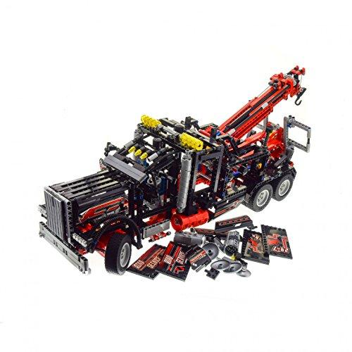 Preisvergleich Produktbild 1 x Lego Technic Set Modell Traffic 8285 Tow Truck Abschlepp Wagen LKW schwarz rot geprüft unvollständig