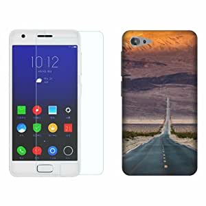 Printland Tempered Glass + Back Cover Combo For Lenovo ZUK Z2
