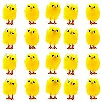 Questi divertenti e morbidi pulcini di Pasquali sono un accessorio da avere assolutamente questa Pasqua. Questi splendori possono restare in piedi sule loro zampe Sono alti circa 4cm e larghi 1cm - perfetti per adornare la tavola senza occupa...
