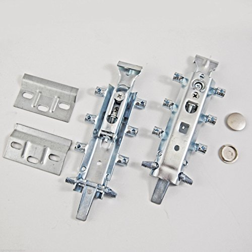 2x Universal soporte para colgar tapas para platos de cocina armario de pared oculta
