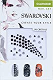 Swarovski Nail Art Crystal Transfers - Glamour Set 1