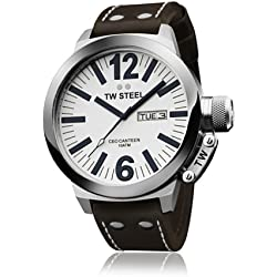 Tw Steel CB191 - Reloj de pulsera para hombre, marrón/rosa