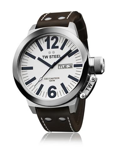 Tw Steel CB191 - Reloj de pulsera para hombre, marrón / rosa