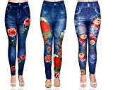 Flashing Click Presents Stretchable Denim Appeared Party Wear Jegging. Gift yourself these trendy and comfortable Jegging from the house of Castle. These Jegging will keep you at ease all day long and at the same time, will look stunning on you. Hurr...