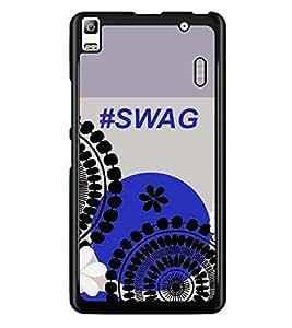 PRINTSWAG SWAG Designer Back Cover Case for LENNOVO A7000