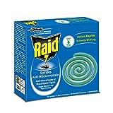 Raid (Paral) Anti-Mücken-Spirale, Moskitospirale, Mückenabwehr, 4er Pack (4 x 10 Stück)