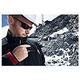 Bosch Professional Beheizbare Jacke GHJ 12+18V Unisex (ohne Akku, 12/18 Volt, Schwarz, Größe L, im Karton) - 6