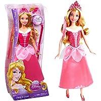 Disney Princess - Bambola Acconciature da Favola Bella Addormentata Snap 'n Style Mattel