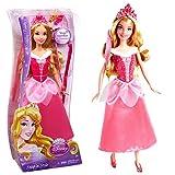 Princesas Disney - Muñeca Peinados de Joyas La Bella Durmiente Snap 'N Style Mattel