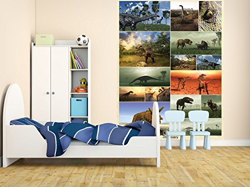 -001 Dinosaurier Animal Planet Wall Mural / Fototapete (Dinosaurier Animal Planet)
