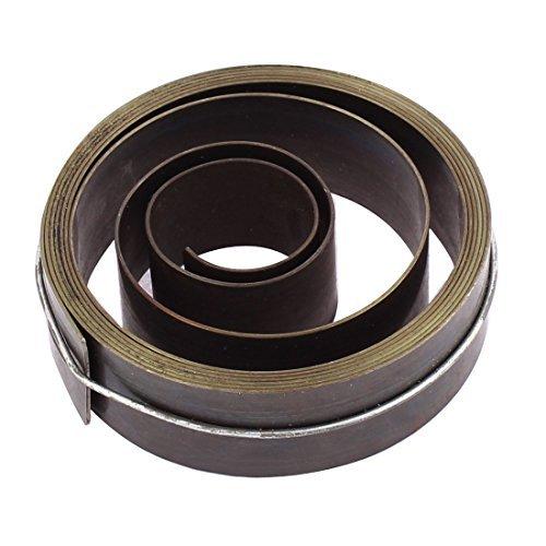 DealMux Metall Recoil Starter Frühling 19mm Breite Gold Grau für Bench Drill (Recoil Frühling Starter)