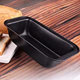 Bulfyss Baking Tray 25.5 cm Bakeware, Steel (Black)