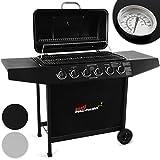 Broil-master® BBQ-Barbecue a Gas con 6bruciatori, in Nero o Argento con...
