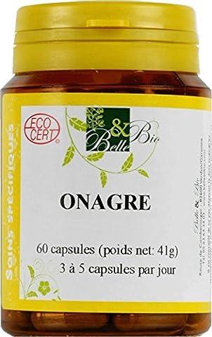 Belle et Bio Onagre Régulateur de cycle féminin bio 60 capsules