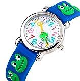 Reloj de Niños para Niños Niñas por Vinmori, Profesor de Tiempo 3D Reloj, Pulsera de...