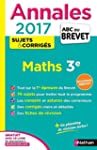 Annales ABC du BREVET 2017 Maths 3e