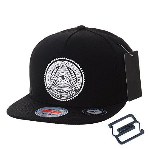 247b72b96a814 Withmoons gorras de béisbol gorra de trucker sombrero de snapback hat  illuminati patch hip hop baseball