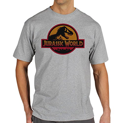 Jurassic World Movie 2015 Popular Just How It Was Shown Real Herren T-Shirt Grau