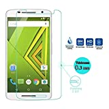 #7: Dashmesh Shopping Tempered glass screen protector For Motorola Moto X Play