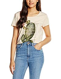 Tom Tailor Denim Relaxed Fitted Print Shirt, T-Shirt Femme