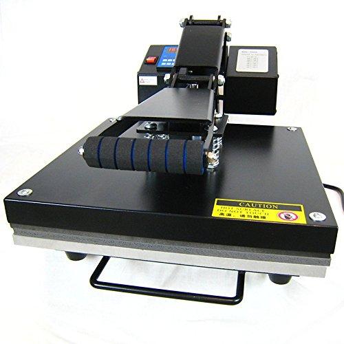 HobbyCut AA1-S Transferpresse 38cm x 38cm Textilpresse 2000 Watt Modell 2016 - 2