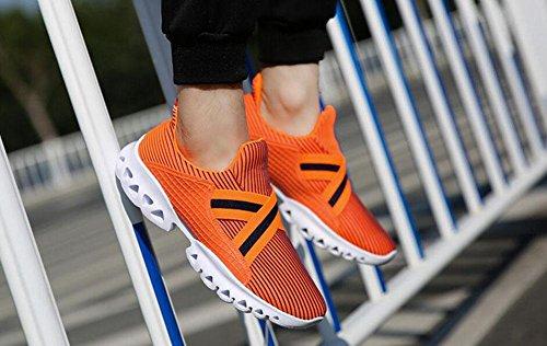 GLTER Männer Frühling Neue Paar Modelle Outdoor Sport Schuhe Freizeit Reisen Laufschuhe Basketball Schuhe Blue