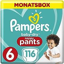 Windeln Pampers Baby-dry Hose Größe 6 Jumbo-box 58 Windeln