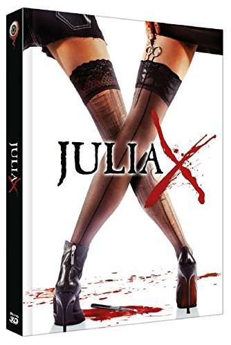 Julia X 3D - 2 Disc Limited Collector Mediabook Edition +2D (Deutsch Uncut, Cover A, B oder C) - DVD - Blu-ray -
