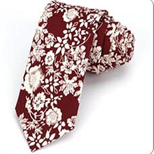 YAOSHI-Bow tie/tie Krawatten und Fliegen für Krawatte der Männer schmaler allgemeiner Mann, der zufälliges Krawatten-Muster-kleine Krawatten-Studenten-Flut Wedding ist Krawatten und Fliegen für