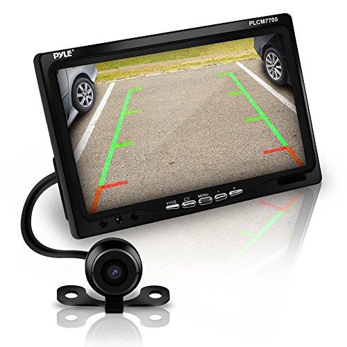 Pyle Fenster Saughalterung TFT-/LCD-Videomonitor Rückfahrunterstützungsfarbkamera 17,8 cm (7 Zoll)