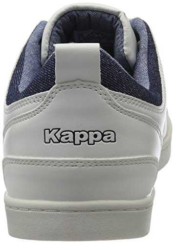 Kappa Herren Rooster Low-Top Weiß (White/Navy)