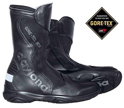 Daytona SPIRIT GTX Herren Motorradstiefel Leder - schwarz Größe 48