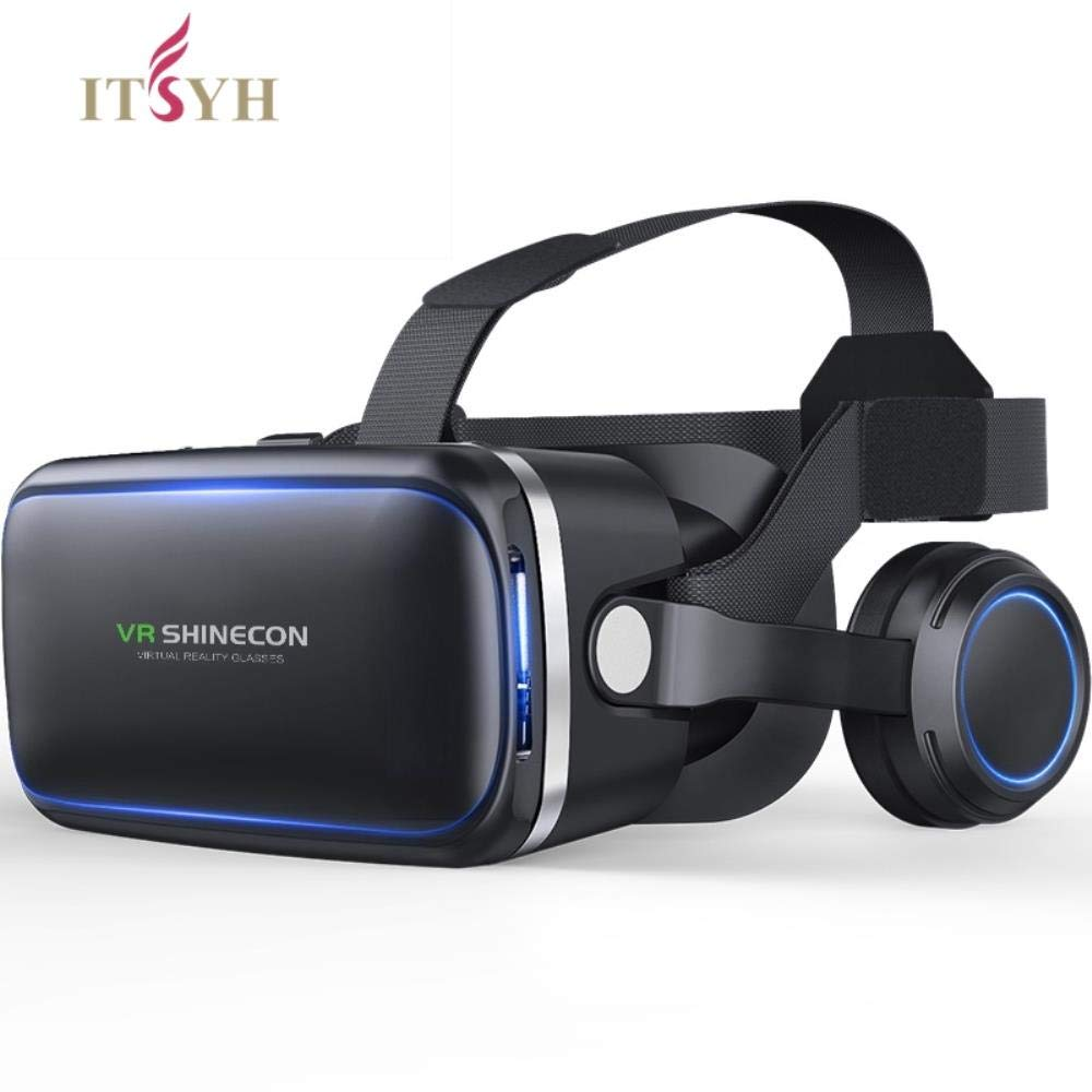 Craven VR Box Lunettes 6.0 réalité virtuelle 3D VR pour 4.7″-6.0″ Lunettes de téléphone Casque Casques Smartphone Package Complet TW-413