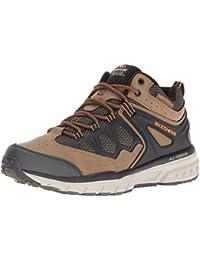 Skechers Stamina Nuovo - Zapatos para hombre, color Marrón, talla 45.5 EU