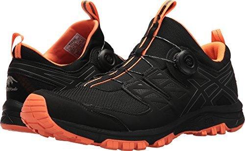Preisvergleich Produktbild ASICS Men's Gel-Fujirado Black/Carbon/Orange 9 D US