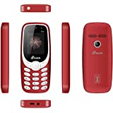 MTECH G24 Dual Sim Feature Phone (RED)