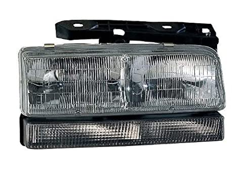 Depo 332-1148R-FSUN Buick LeSabre/Park Avenue Passenger Side Replacement Headlight Assembly with Corner Light by Depo