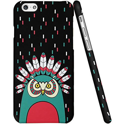 iPhone 6 Plus Case, ESR Mania Series Protective Case Bumper[Scratch-Resistant] [Perfect Fit] Clear Hard Back Cover with Cute Print for 5.5 inches iPhone 6 Plus (Laughing Baby) Illustrators Series_Vibrant Indian