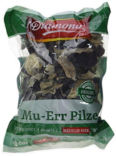 Preisvergleich Produktbild DIAMOND Mu Err Pilze Black Fungus, 5er Pack (5 x 100 g)
