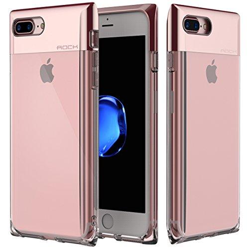 Custodia iPhone 7 Plus Case,ROCK Serie Bottiglia di Profumo Telefono Caso,[Elegante][Ragazza][Carino][Romantico][PC+TPU][Trasparente]per Apple iPhone 7 Plus(5.5inch) (Serie Bottiglia Di Profumo)