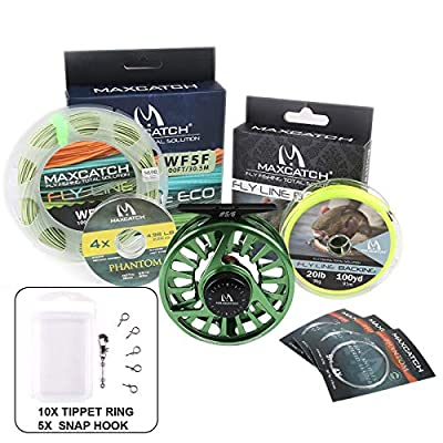 MAXIMUMCATCH Maxcatch Avid Series Fly Fishing Reel Best Value - 1/3, 3/4, 5/6, 7/8, 9/10-5 Color Available