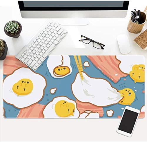 PFJRE Mauspad Cartoon Süße Große wasserdichte Gepolsterte Gaming-Mauspad Tastatur Pad Tischset Geeignet Für Familie Lernen Geschenke, 40X90Cm (Tischsets Für Das Lernen)
