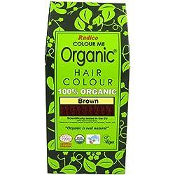 Radico - Tinte vegetal orgánico para el cabello - Castaño
