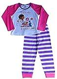 Disney Doc McStuffin Schlafanzug für Kinder, 3bis 7Jahre Gr. 5-6 Jahre, weiß