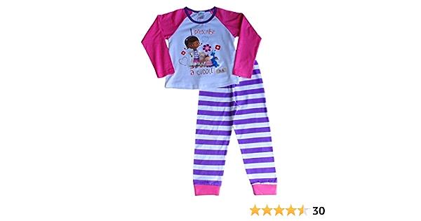 Disney Doc McStuffins Filles Court Pyjamas Pyjama Nightwear 18-24 mois