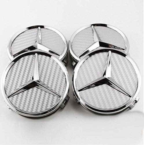 mercedes-benz-lot-de-4-centres-de-roue-pour-mercedes-benz-classe-a-b-c-e-s-sl-amg-en-fibre-de-verre-