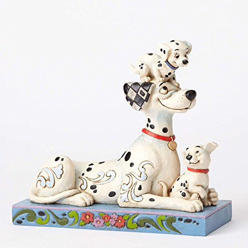 Disney Tradition Puppy Love (Pongo With Penny & Rolly Figur) -